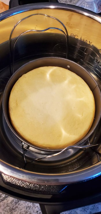 Cheesecake in Instant Pot