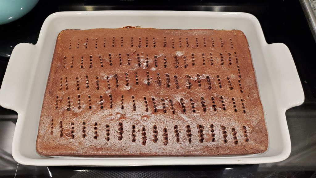 Let The Dessert Cool Before Pouring The Glaze