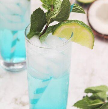 Blue Coconut Mojito