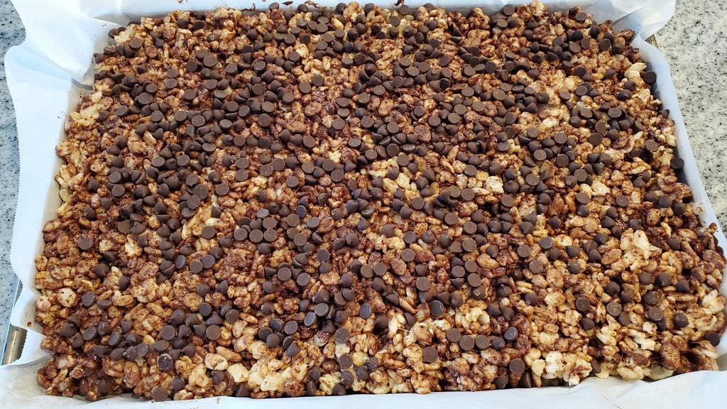 Mini Chocolate Chips with Rice Krispies Cereal