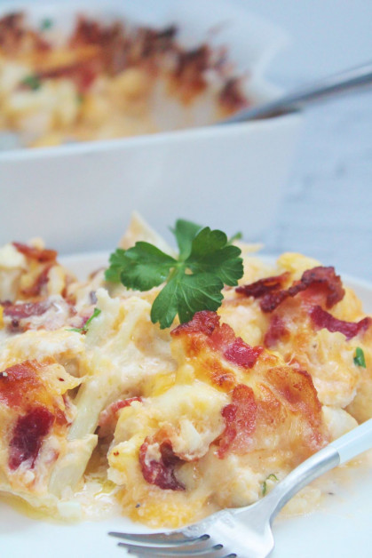 Low Carb and Keto Friendly Baked Casserole