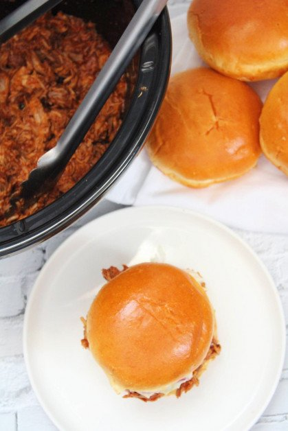 BBQ sandwiches for the summer