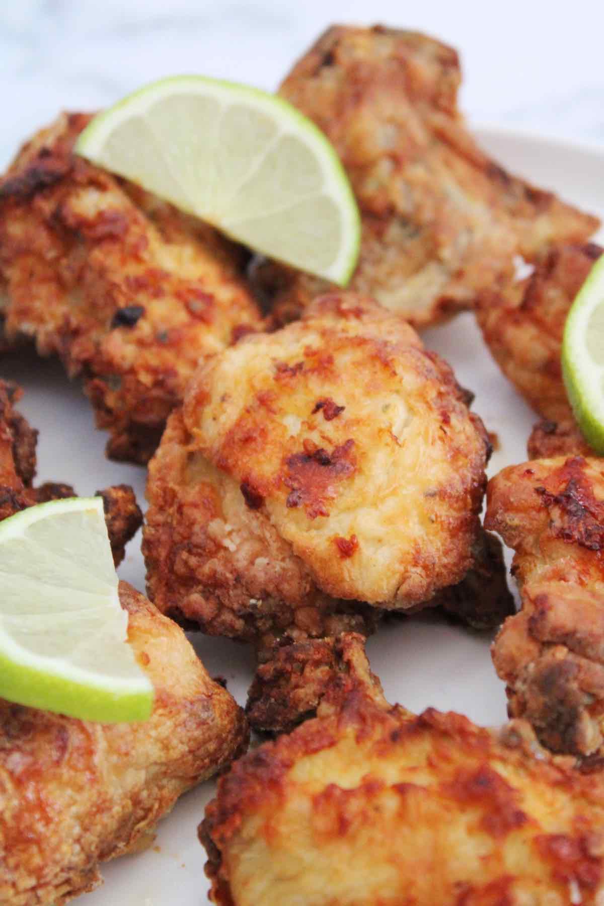 Air Fryer fried chicken latin style.