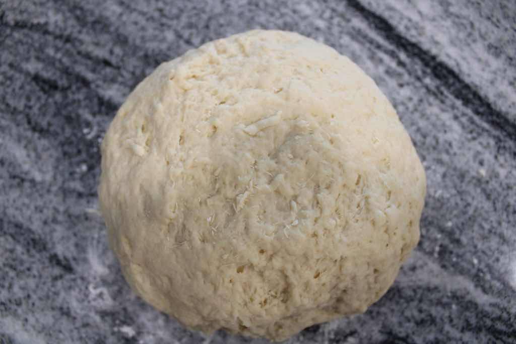 This is how you make dough for homemade pasta.