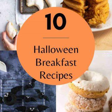 10 spooky halloween breakfast recipes