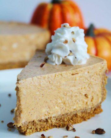 instant pot pumpkin spice cheesecake