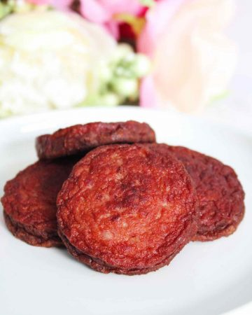 Dominican fried salami