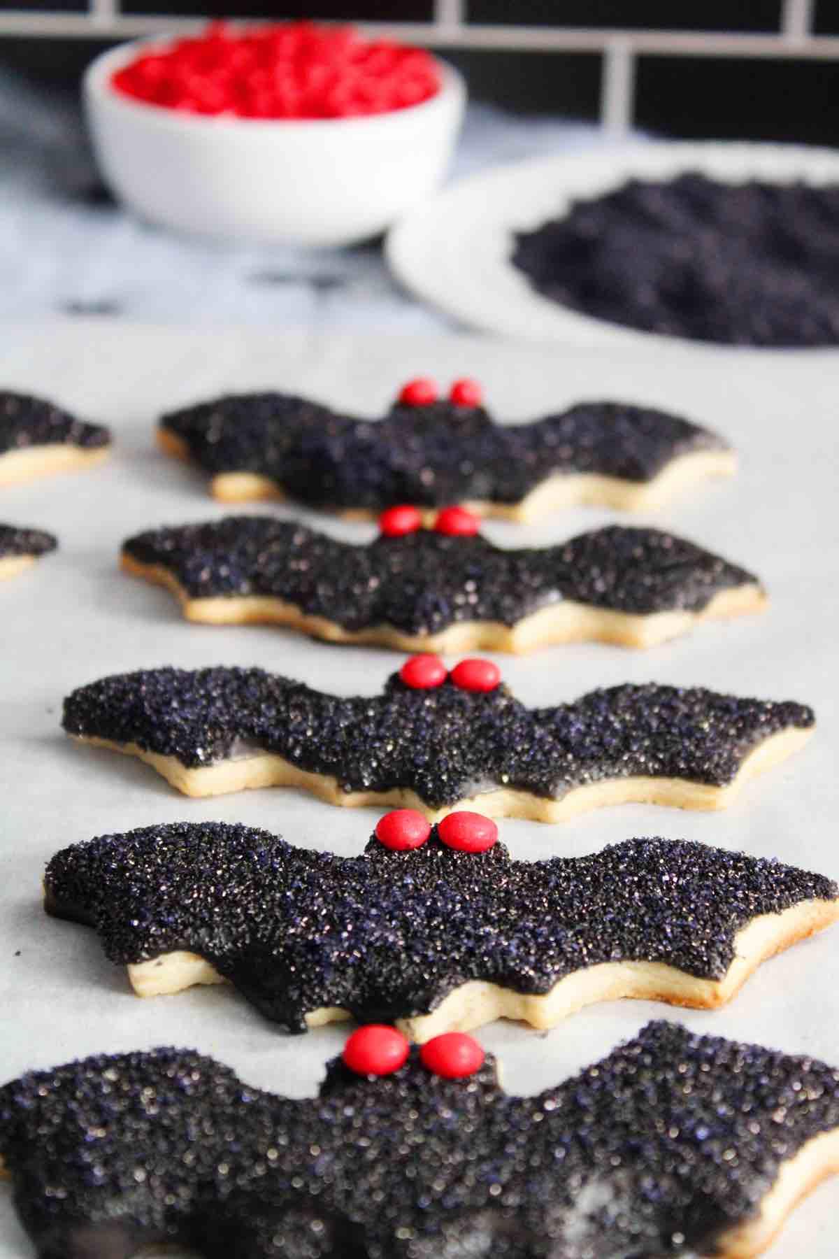 Cookies for Halloween.