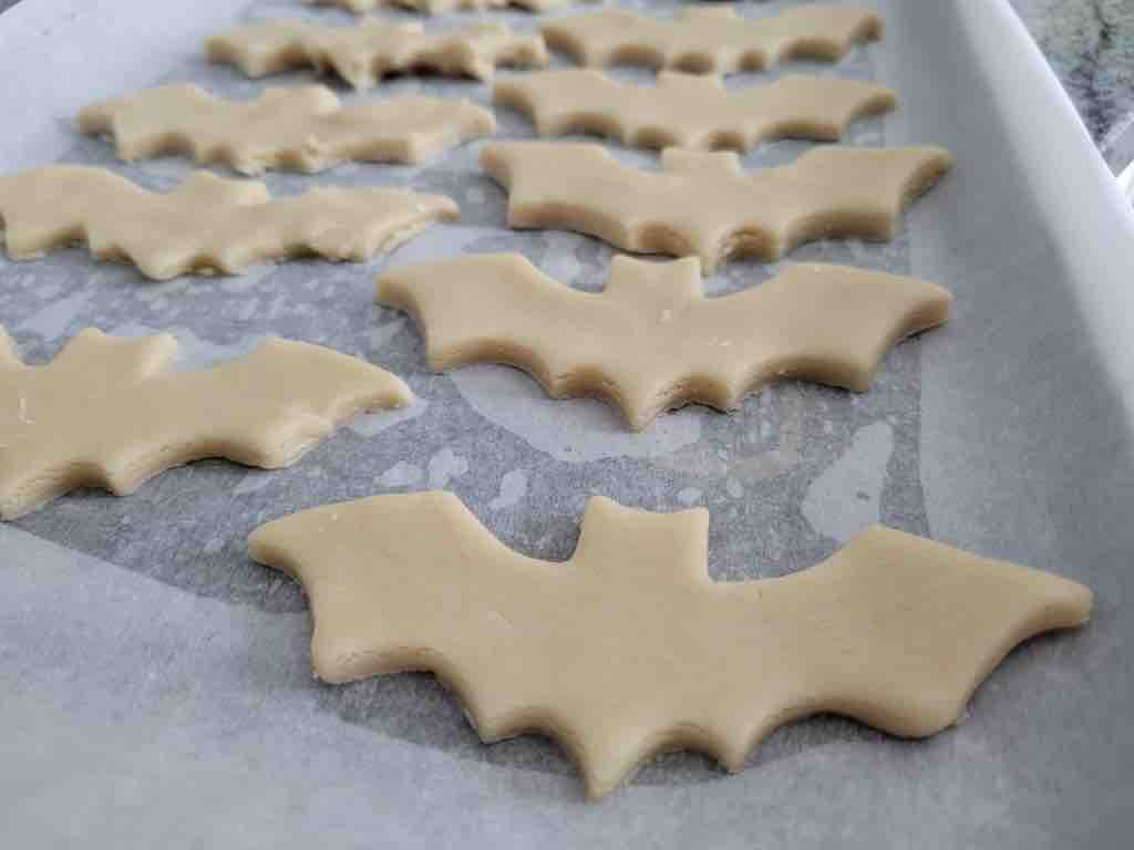 This is what the cookies look like before being baked.