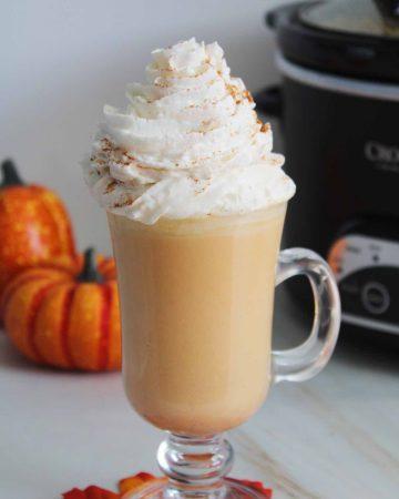 crockpot pumpkin spice hot chocolate