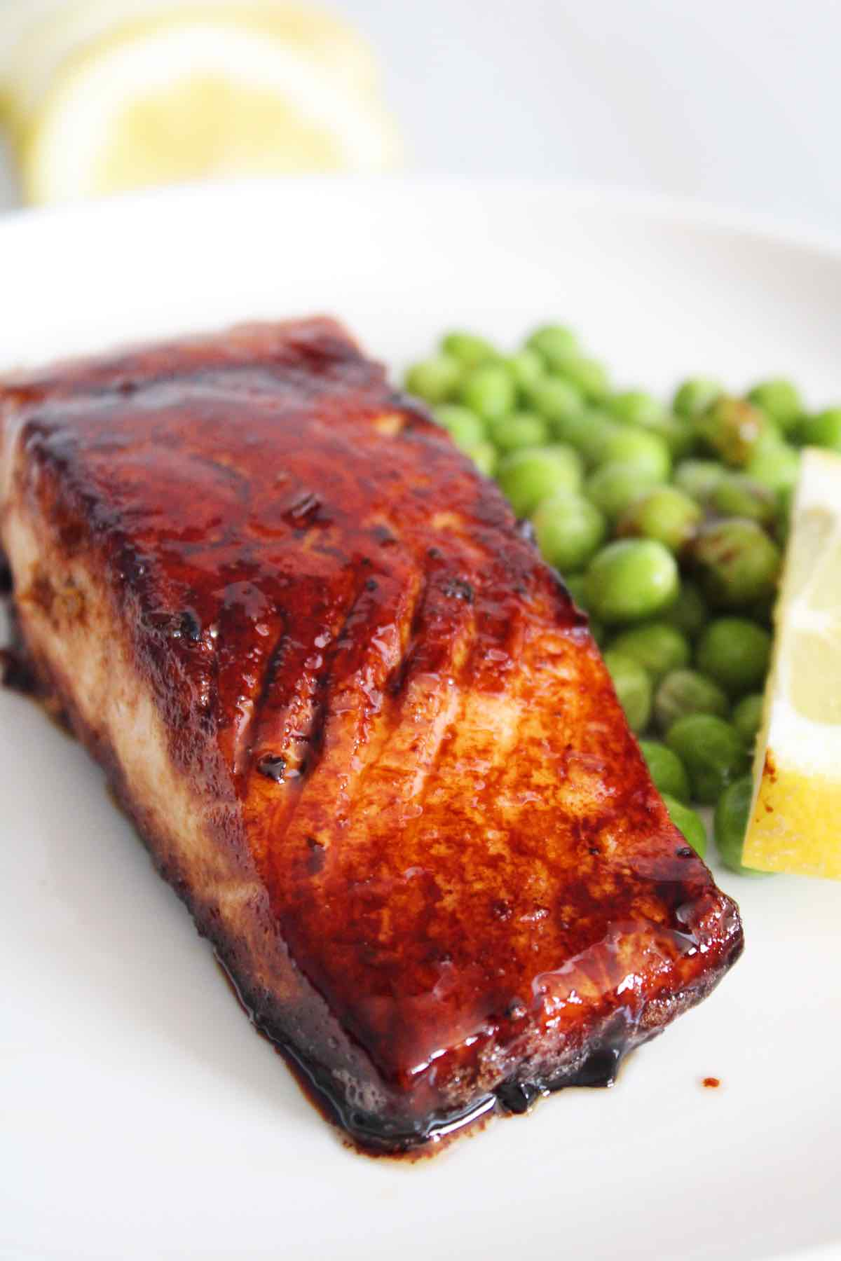 This browned butter honey garlic salmon is so easy to make.